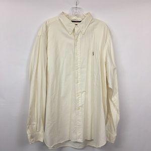 Ralph Lauren Classic Fit Button Up White XXL